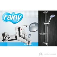 Diamond Rainy Banyo Bataryası + Sürgülü Duş Takımı