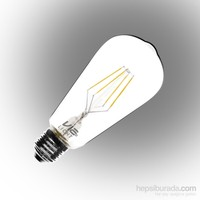 Vialicht 4W(40W) T64-COG Led Filament Deco E27 430lm 270° 2700K