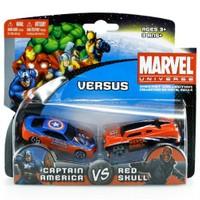 Marvel Universe Captain America Ve Red Skull Oyuncak Araba