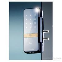 Yale Kartlı Ve Şifreli Dijital Dıştan Takma Kilit - Cam Kapılar İçin - Ydg313