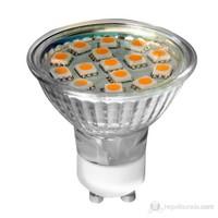 Müller Licht 3W LED Spot Ampul-GU10 Duylu--Sıcak Beyaz