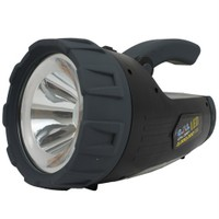 CFL 2001 3W Led + 24 Led Projektör Şarjlı Led El Feneri 80107