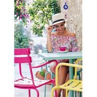 Decosit-Erinöz İlya Sandalye / 2'Li Set Renk: Açık Mavi