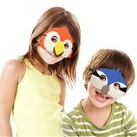 Kuşlar Parti Maskesi 5'Li Set