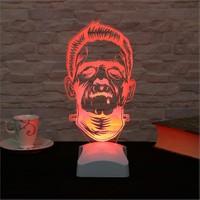 Dekorjinal 3 Boyutlu Frankenstein Lamba V23d155