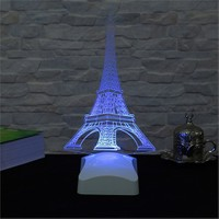 Dekorjinal 3 Boyutlu Eyfel Kulesi Lamba V23d178