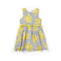 Zeyland Kız Çocuk Desenli Elbise - K-61M4ECM31