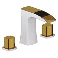Penta Mir White Gold Ankastre Lavabo - Küvet Bataryası