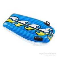 İntex 58165 Tutamaçlı Şişme Sörf Tahtası (Mavi) 112X62 Cm