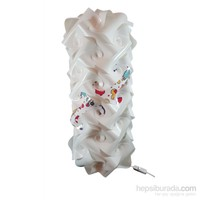 Puzzle Beyaz/Bebek Ürünleri Desenli Lambader