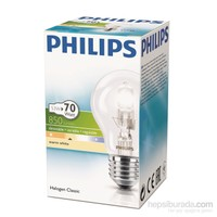 Philips Ecoclassic 53W Ampul E27 230V A55 1Ct/15 Srp