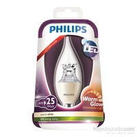 Philips Led Warmglow 25W Ampul E14 Ww 230V Ba38 Cl D/4