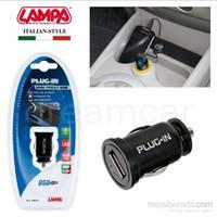 Lampa Plug-In Usb Çıkışlı Şarj Soketi 1000 mA 39019