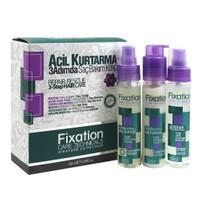 Fixation 3 Adımda Saç Bakım Kürü Tonik Balsam Serum