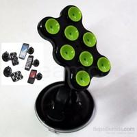 Dreamcar Süper Vantuzlu Siyah/Yeşil Telefon/Pda/Navigasyon Tutucu