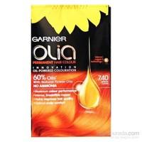 Garnier Olia 7/40 - Yoğun Bakır Saç Boyası