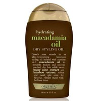 Organix Hydrating Macadamia Oil Dry Styling Oil 100Ml - Yapılandırıcı Kuru Yağ