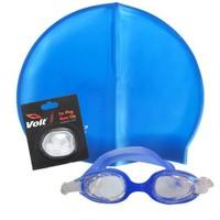 Povit 2323 Yüzücü Gözlüğü Povit Silikon Bone Voit Kulak Burun Tıkacı