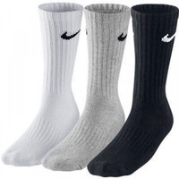 Nike Sx4508-965 3Ppk Value Cotton 3Lü Karişik Spor Çorap