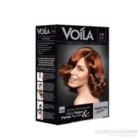 Voila Nano Diamond 7.43 Sultan Bakırı Kalıcı Saç Boyası