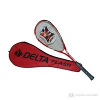 """Delta Flash Tek Parça Özel Lux Çantalı 27"""" Squash Raketi"""