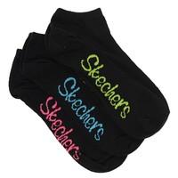 Skechers S104873 3Pk Womens Non Terry Low Cut 3Lü Kadın Çorap S104873-001