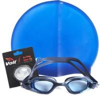 Povit Gs3 Yüzücü Gözlüğü Povit Silikon Bone Voit Kulak Burun Tıkacı