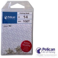 Pelican 1133 No.12 Galvaniz Uzun Pala İğne (50'li pk.)