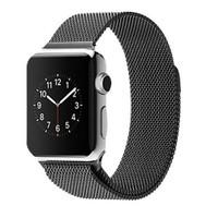 Case 4u Apple Watch 42 mm. Metal Kayış Milano Loop Siyah