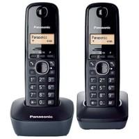 Panasonic KX-TG 1612 Dect Telefonu (Çift Ahizeli )