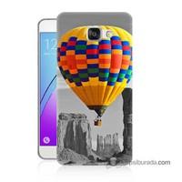 Teknomeg Samsung Galaxy A5 2016 Kılıf Kapak Renkli Uçan Balon Baskılı Silikon