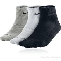 Nike 3Ppk D-F Lightweight Qtr Çorap