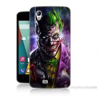 Teknomeg General Mobile Discovery 2 Mini Batman Vs Joker Baskılı Silikon Kılıf