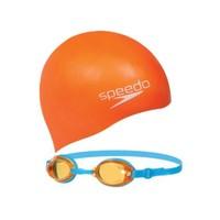 Speedo 8-093026817 Jet Çocuk Yüzücü Gözlük Seti Çocuk Yüzücü Gözlüğü