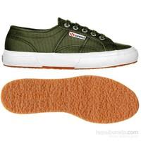 Superga 2750 Cotu Classic Kadın Yeşil Spor Ayakkabı (S000010-595)