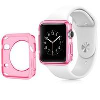 Case 4U Apple Watch Silikon Kılıf Pembe(38mm)