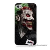 Teknomeg İphone 4S Kapak Kılıf Joker Joe Baskılı Silikon