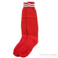 Sportive Süper Lüx Çorap Kırmızı Beyaz