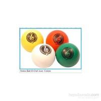 Sol Anahtarlı Stres Topu - Beyaz