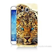 Teknomeg Samsung Galaxy A8 Kaplan Baskılı Silikon Kılıf