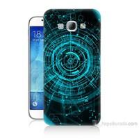 Teknomeg Samsung Galaxy A8 Asit Baskılı Silikon Kılıf