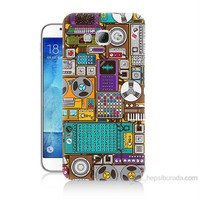 Teknomeg Samsung Galaxy A8 Teknoloji Baskılı Silikon Kılıf