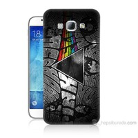 Teknomeg Samsung Galaxy A8 Pink Floyd Baskılı Silikon Kılıf