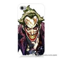 Teknomeg İphone 4 Kapak Kılıf Joker Baskılı Silikon