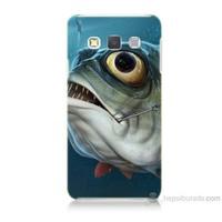 Teknomeg Samsung Galaxy A7 Balık Baskılı Silikon Kılıf