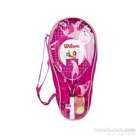 Wilson Wrt 216800 Envy Pink 25 Jr Starter Set