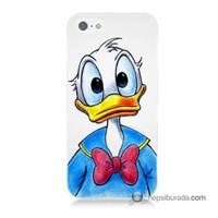 Teknomeg İphone 5 Kapak Kılıf Donald Duck Baskılı Silikon