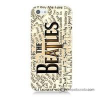 Teknomeg İphone 5 Kılıf Kapak The Beatles Baskılı Silikon