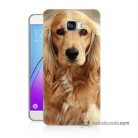 Teknomeg Samsung Galaxy A5 2016 Kapak Kılıf Köpek Baskılı Silikon