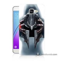 Teknomeg Samsung Galaxy A5 2016 Kılıf Kapak Assassins Creed Baskılı Silikon